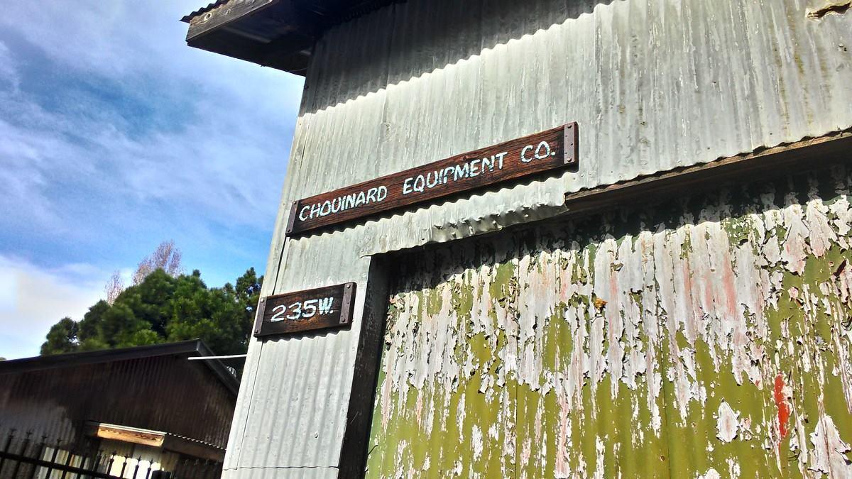 パタゴニア創業当時の倉庫