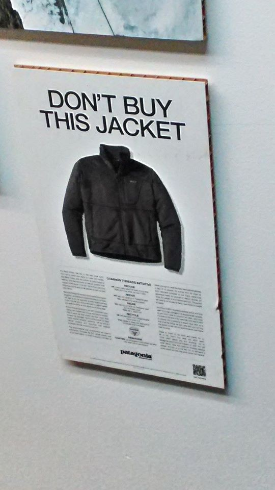 パタゴニアの不買キャンペーン